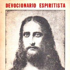 Libros de segunda mano: ALLAN KARDEK : DEVOCIONARIO ESPIRITISTA (KIER, 1982). Lote 173075370