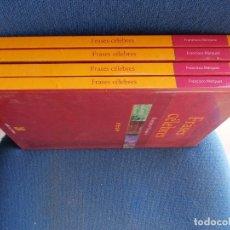 Libros de segunda mano: FRASES CELEBRES 4 TOMOS FRANCISCO MARQUEZ CULTURA Y LETRAS. Lote 173108180