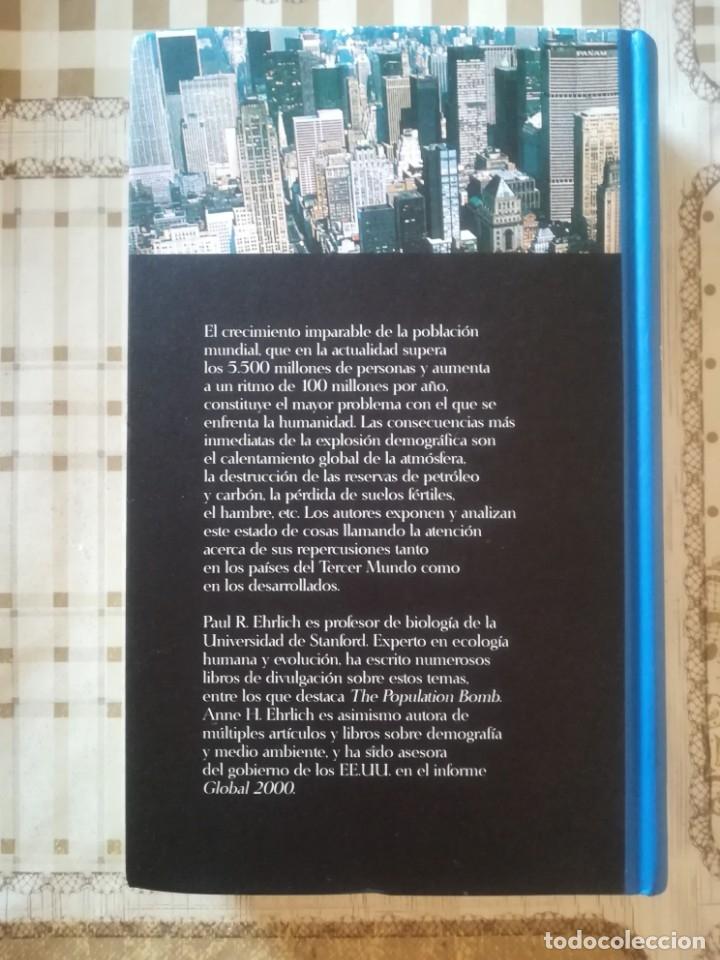 Libros de segunda mano: La explosión demográfica. El principal problema ecológico - Paul R. Ehrlich / Anne H. Ehrlich - Foto 2 - 173126394