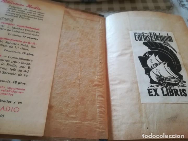 Libros de segunda mano: Pre-Radio. Lo que debe saber antes de comenzar el estudio de la radio - Estanislao R. Maroto - 1944 - Foto 3 - 173127017