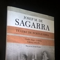 Libros de segunda mano: TEATRE DE POSTGUERRA. JOSEP M. DE SAGARRA. OCELLS I LLOPS-GALATEA. L´ALCOVA VERMELLA. LABUTXACA 2014. Lote 173192214