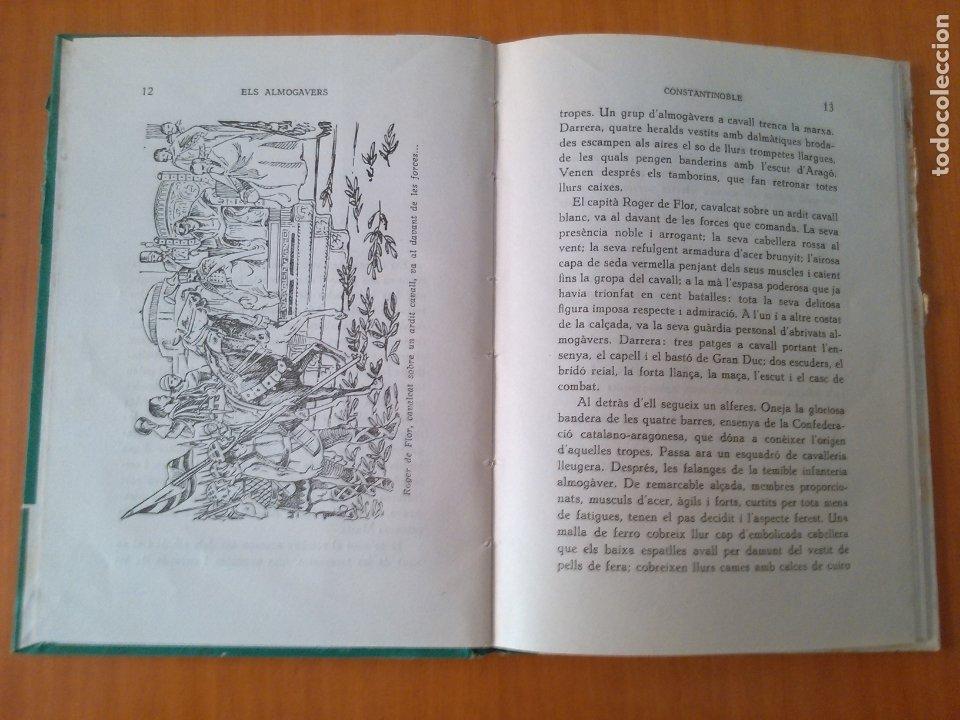 Libros de segunda mano: Els Almogavers. - Foto 2 - 173235038
