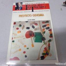 Libros de segunda mano: NUEVO PRECINTADO ESPACIO Y TIEMPO PROYECTO GENOMA . Lote 173263000