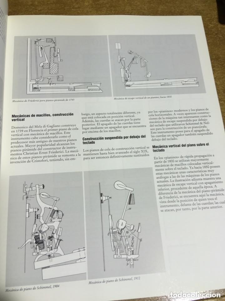 Libros de segunda mano: LA CONSTRUCCION DE PIANOS - UN ARTE DIFICIL SCHIMMEL - Foto 5 - 173279603