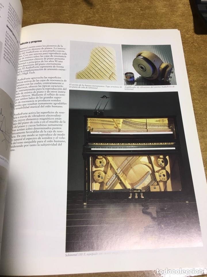 Libros de segunda mano: LA CONSTRUCCION DE PIANOS - UN ARTE DIFICIL SCHIMMEL - Foto 6 - 173279603