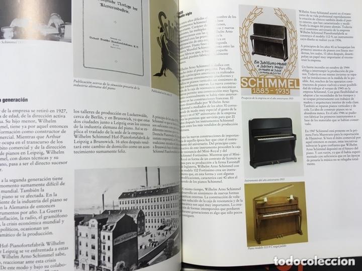 Libros de segunda mano: LA CONSTRUCCION DE PIANOS - UN ARTE DIFICIL SCHIMMEL - Foto 9 - 173279603