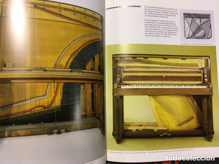 Libros de segunda mano: LA CONSTRUCCION DE PIANOS - UN ARTE DIFICIL SCHIMMEL - Foto 10 - 173279603