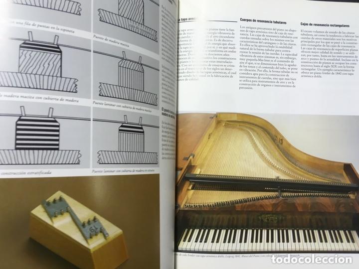 Libros de segunda mano: LA CONSTRUCCION DE PIANOS - UN ARTE DIFICIL SCHIMMEL - Foto 12 - 173279603