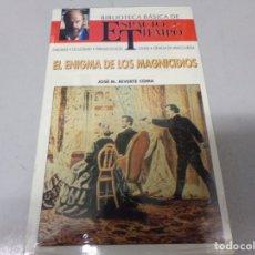 Libros de segunda mano: NUEVO PRECINTADO ESPACIO Y TIEMPO EL ENIGMA DE LOS MAGNICIDIOS . Lote 173294807
