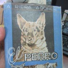 Libros de segunda mano: EL PERRO Y EL GATO. RIERA ADOHER. L 4364-459.. Lote 173393263