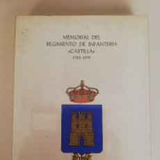 Libros de segunda mano: MEMORIAL DEL REGIMIENTO DE INFANTERIA ¨ CASTILLA ¨. 1793-1979. BADAJOZ, 1979. Lote 173431390