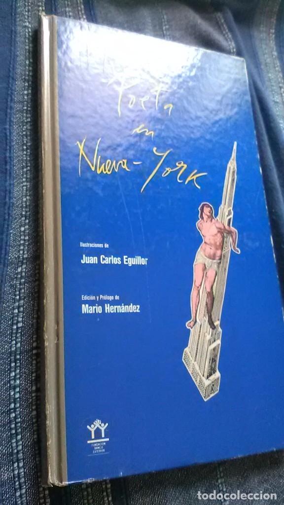 Libros de segunda mano: Poeta en nueva york, raro, federico Garcia lorca y juan Carlos eguillor - Foto 2 - 173489210