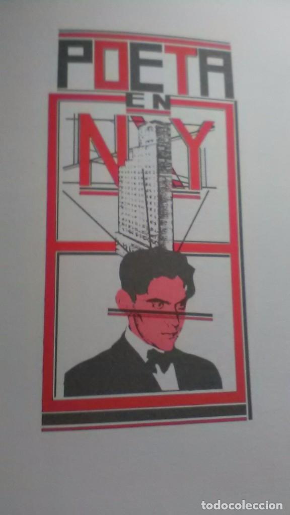 Libros de segunda mano: Poeta en nueva york, raro, federico Garcia lorca y juan Carlos eguillor - Foto 8 - 173489210