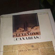 Libros de segunda mano: LEYENDAS CANARIAS.FELIX DUARTE.1981. Lote 173525762