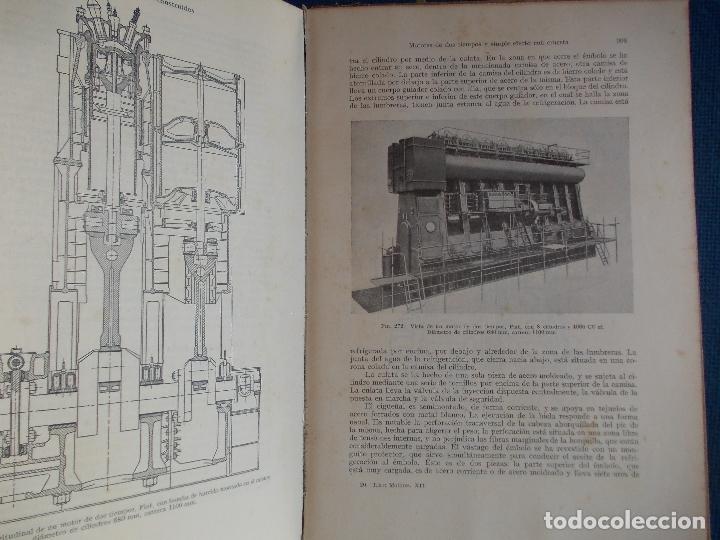 Libros de segunda mano: MOTORES DE COMBUSTION INTERNA DIESEL FIJOS Y MARINOS HANS LIST - Foto 2 - 173551277