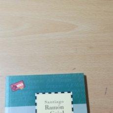 Libros de segunda mano: SANTIAGO RAMON Y CAJAL/ CAI 100 ARAGON/ I-104. Lote 173597449
