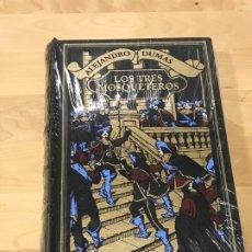 Libros de segunda mano: LOS TRES MOSQUETEROS ALEJANDRO DUMAS PRECINTADO. Lote 173639997