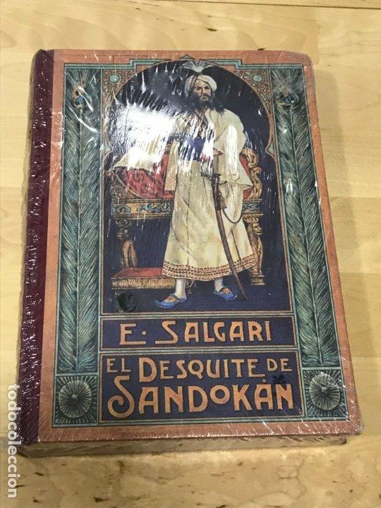 EL DESQUITE DE SANDOKAN - EMILIO SALGARI - PRECINTADO (Libros de Segunda Mano (posteriores a 1936) - Literatura - Otros)