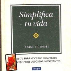 Libros de segunda mano: SIMPLICA TU VIDA. Lote 173644352
