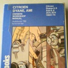 Libros de segunda mano: LIBRO AUTOMOVIL AUTOBOOKS CITROEN 2CV,DYANE,AMI .. Lote 173690738