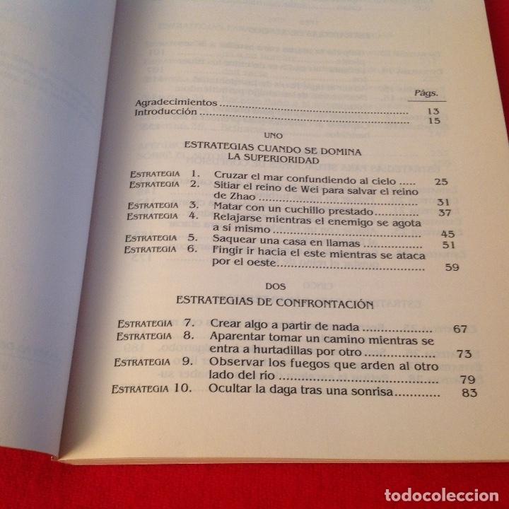 Libros de segunda mano: Las 36 estrategias chinas, una antigua sabiduría para el mundo de hoy, de Gao Yuan, Edaf 1993 - Foto 3 - 173797698