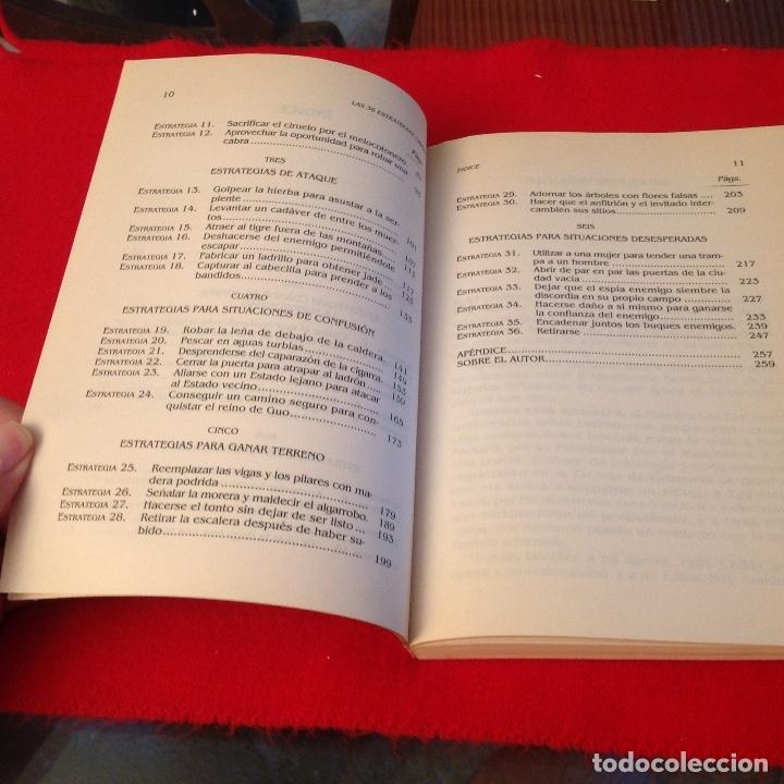 Libros de segunda mano: Las 36 estrategias chinas, una antigua sabiduría para el mundo de hoy, de Gao Yuan, Edaf 1993 - Foto 4 - 173797698