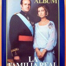 Libros de segunda mano: ÁLBUM LA FAMILIA REAL ESPAÑOLA - ANTONIO FONTAN - PUNTO EDITORIAL - 1981 - IMPECABLE - VER INDICE. Lote 173804275