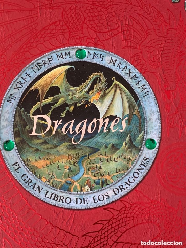 Libros de segunda mano: EL GRAN LIBRO DE LOS DRAGONES – Editado por: DUGALD STEER - Foto 2 - 173815700