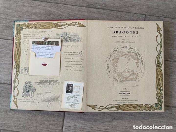 Libros de segunda mano: EL GRAN LIBRO DE LOS DRAGONES – Editado por: DUGALD STEER - Foto 3 - 173815700