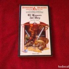 Libros de segunda mano: DUNGEONS & DRAGONS Nº 9 EL TESORO DEL REY TIMUN MAS 1985. Lote 173851734