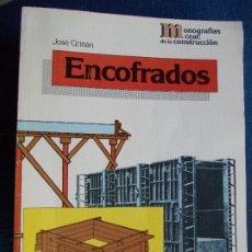 Libros de segunda mano: ENCOFRADOS CEAC. Lote 173893614