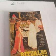Libros de segunda mano: RITUALES SECRETOS. FELIX LLAGUÉ. EDITORIAL BRUGUERA 1978.. Lote 173912730
