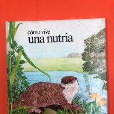 Libros de segunda mano: COMO VIVE UNA NUTRIA - EDICIONES ALTEA 1981. Lote 173930162