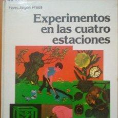 Libros de segunda mano: EXPERIMENTOS EN LAS CUATRO ESTACIONES. - VV.AA.. Lote 173725902