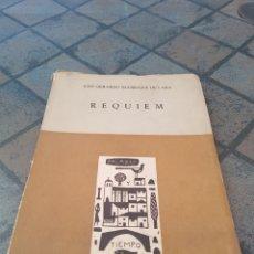 Libros de segunda mano: RÉQUIEM JOSÉ GERARDO MANRIQUE DE LARA 1961. Lote 173961649