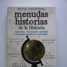 Libros de segunda mano: MENUDAS HISTORIAS DE LA HISTORIA. Lote 173978935