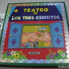 Libros de segunda mano: TEATRO DE LOS TRES CERDITOS. Lote 173994072