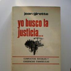 Libros de segunda mano: YO BUSCO LA JUSTICIA.... Lote 174054169