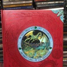 Libros de segunda mano: DRAGONES EL GRAN LIBRO DE LOS DRAGONES. Lote 174092653