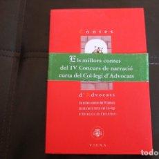 Libros de segunda mano: CONTES D'ADVOCATS, CUENTOS DE ABOGADOS. Lote 174104532