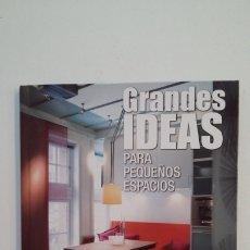 Libros de segunda mano: GRANDES IDEAS PARA PEQUEÑOS ESPACIOS. CRISTIANA PAREDES BENÍTEZ. PRISMA PUBLICACIONES 2002. TDK401. Lote 174121713