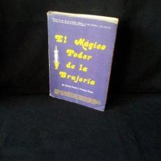 Livros em segunda mão: GAVIN FROST E YVONNE FROST - EL MAGICO PODER DE LA BRUJERIA. Lote 196827632
