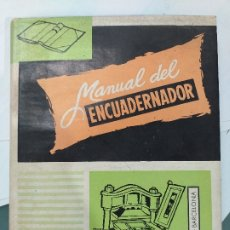 Libros de segunda mano: MANUAL DEL ENCUADERNADOR DORADOR Y PRENSISTA 1971 BIBLIOTECA PROFESIONAL E. P. S. 7ª ED. DON BOSCO. Lote 174167174