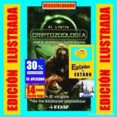 Libros de segunda mano: CRIPTOZOOLOGÍA - EL ENIGMA DE LOS ANIMALES IMPOSIBLES - JOSÉ G. GONZÁLEZ DAVID HEYLEN - EDAF - 14 €. Lote 174242698