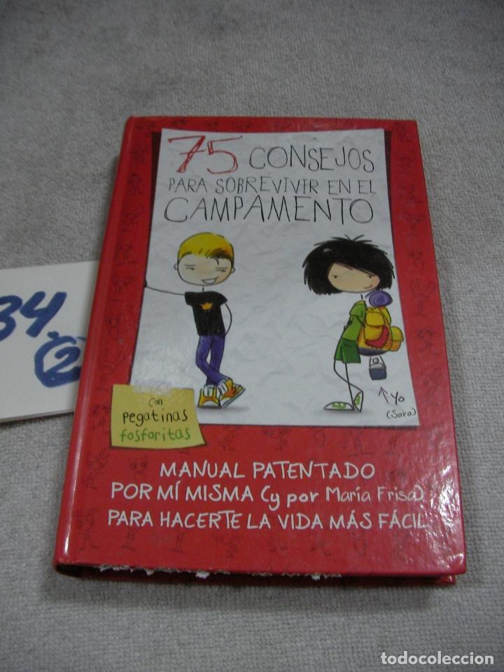 75 CONSEJOS PARA SOBREVIVIR EN CAMPAMENTO (Libros de Segunda Mano - Literatura Infantil y Juvenil - Otros)