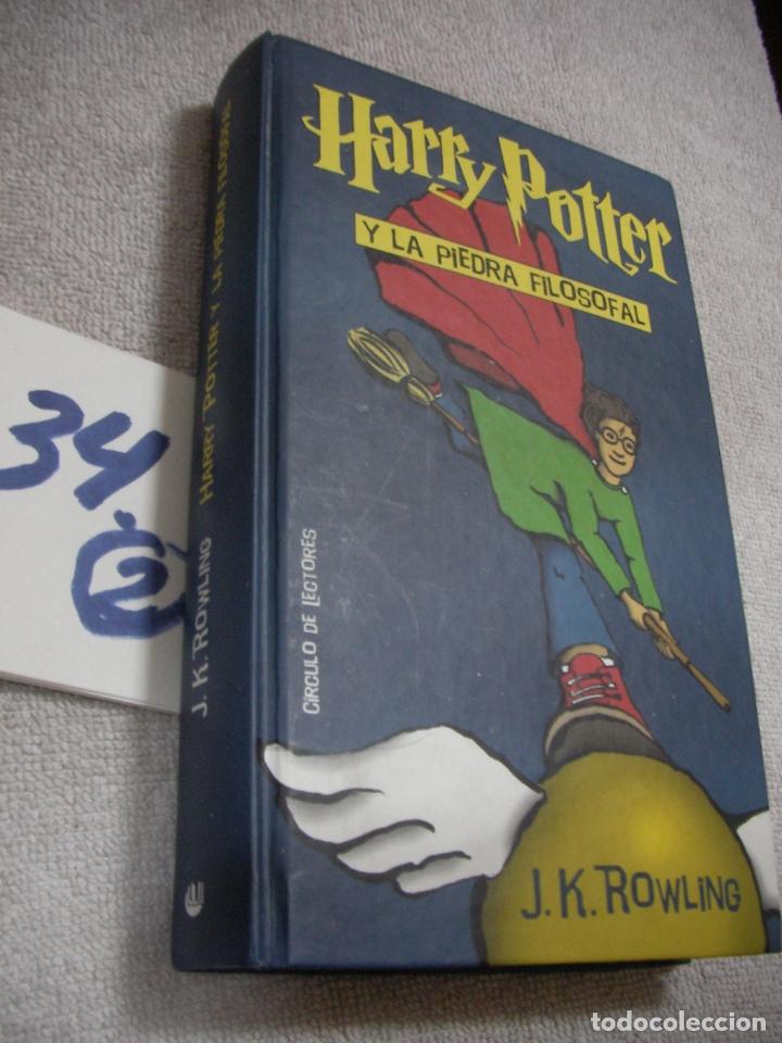 HARRY POTTER Y LA PIEDRA FILOSOFAL (Libros de Segunda Mano - Literatura Infantil y Juvenil - Otros)