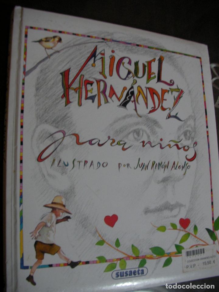 MIGUEL HERNANDEZ PARA NIÑOS (Libros de Segunda Mano - Literatura Infantil y Juvenil - Otros)