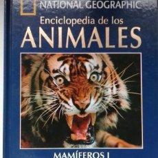 Libros de segunda mano: MAMIFEROS I. LIBRO Y DVD. ENCICLOPEDIA DE LOS ANIMALES. NATIONAL GEOGRAPHIC. ESTÁ EN MURCIA. Lote 174252227