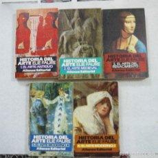 Libros de segunda mano: HISTORIA DEL ARTE 5 TOMOS - ELIE FAURE - ALIANZA EDITORIAL - AÑOS 90 . Lote 174254298