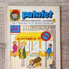 Libros de segunda mano: PATUFET. Lote 174303252